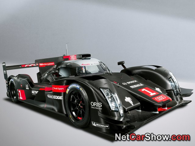 Audi is debuting the new R18 LeMans Prototype live right now!