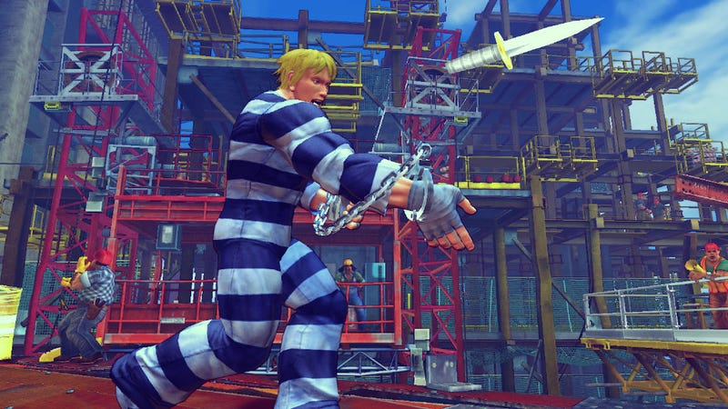 Super Street Fighter IV's Cody, Adon, And Guy In Pictures