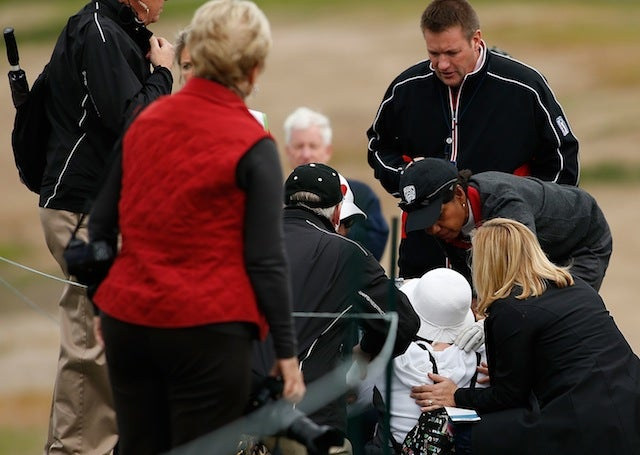 Condoleezza Rice Beaned A Lady At The Pebble Beach Pro-Am