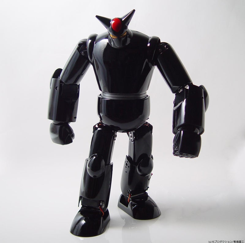 Black OX Robot Is Big on the Bad, Small on the Big