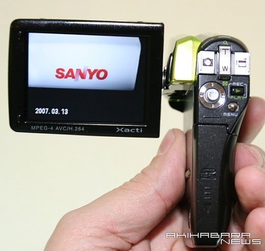 Sanyo Xacti CG65: Now With H.264 And In Lime