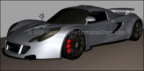 1000 HP Hennessey Venom GT Concept Gets Simulated, More Build Pics