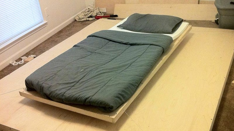 You Probably Don't Want This Awesome Floating Maglev Bed If You're Covered in Piercings
