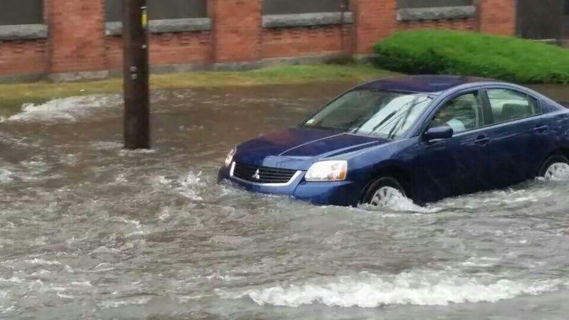"Flash Flood Emergency in Southeastern Mass. as Arthur Drops 6"" of Rain"