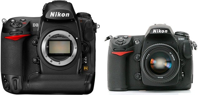 Nikon D3 and D300 Firmware Updates