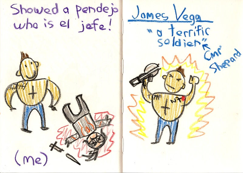 The Adventures of James Vega