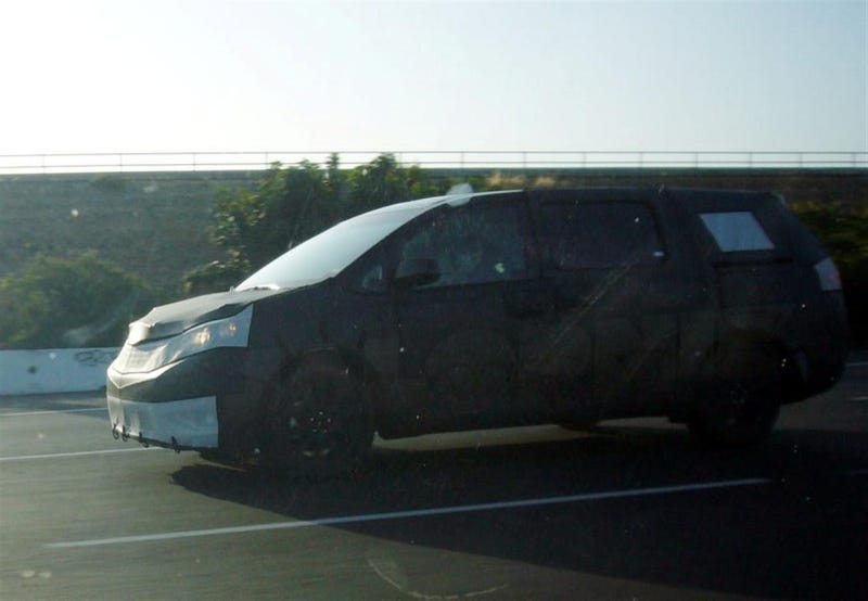 2011 Toyota Sienna: First Egg-Shaped Look