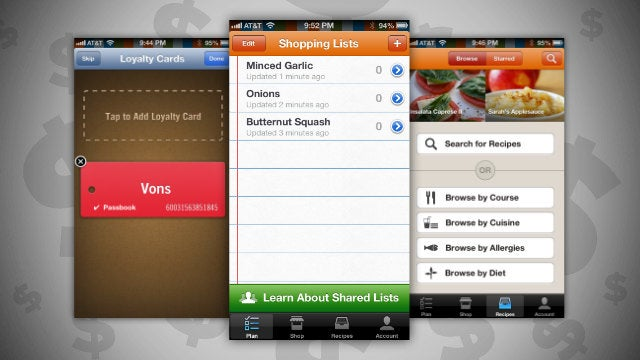 Pushpins Manages Your Grocery Lists, Suggests Recipes, and Offers Coupons for the Items You Buy