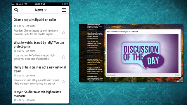 NewsBar Is a Minimal RSS Reader with iCloud Sync