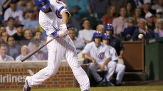 Kris Bryant Nails Top Of Wrigley Scoreboard With 477-Foot Bomb
