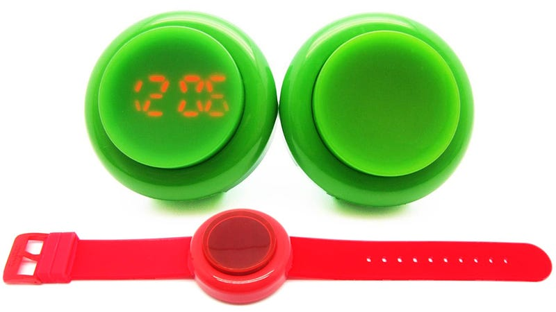 Pound On This Arcade Button Watch For Unlimited Time Checks