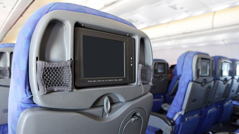 Airplane TV Screens Might Go the Way of Portable CD Players