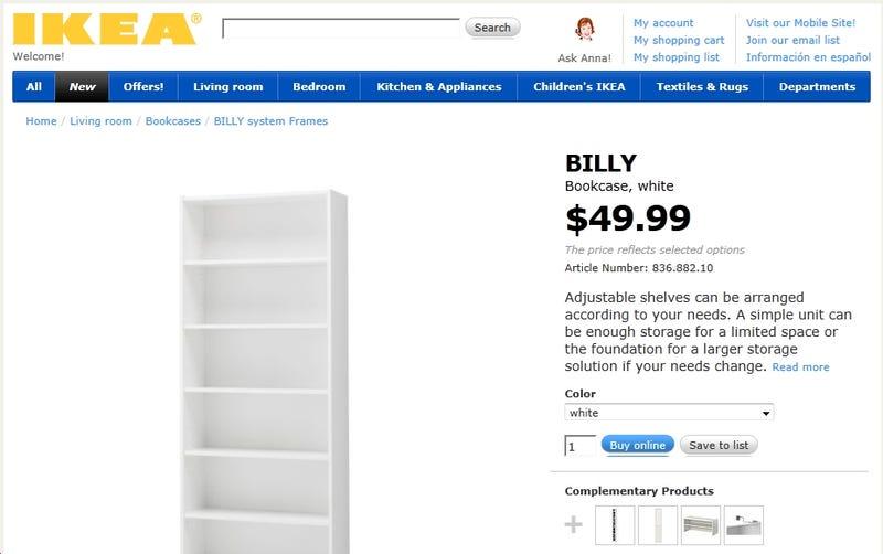 Ikea Hates Books