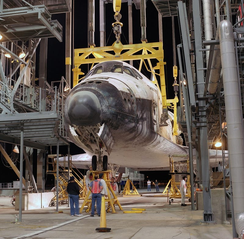 NASA Is Tearing Down One of the Last Vestiges of Its Shuttle Program