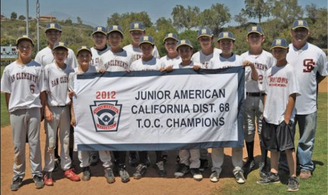 Kids Coach Little League Team To Championship