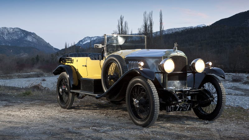 Britain's First 100 MPH Car Turns 100