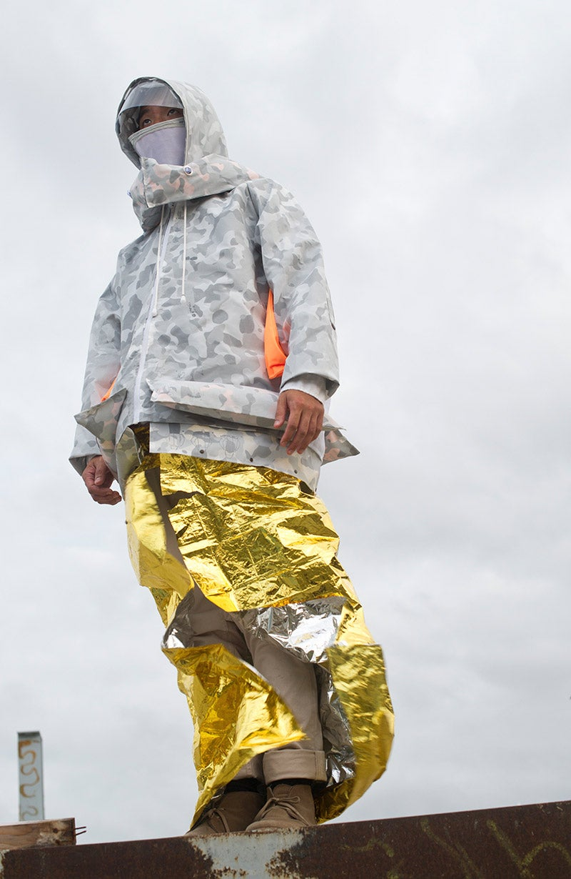 It's doubtful this survival jacket will get you through the apocalypse
