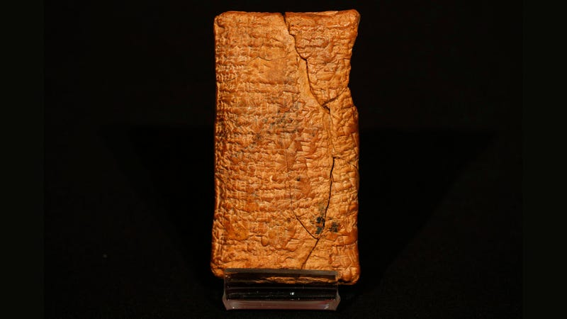 This ancient tablet says Noah's Ark was round