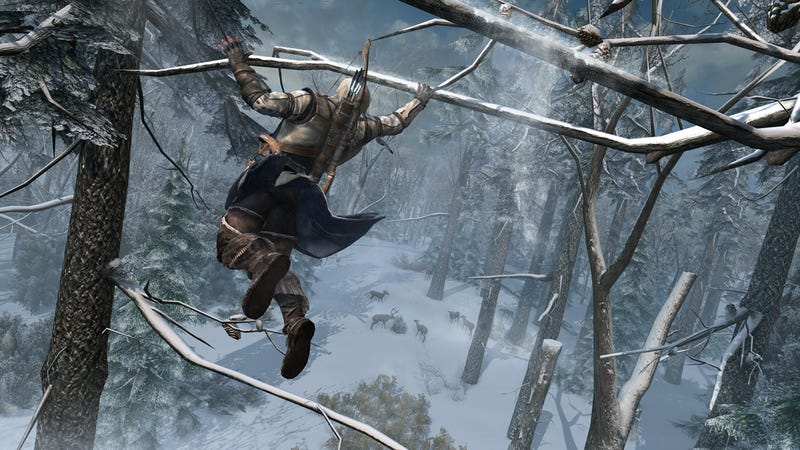 Redcoats Are In Serious Jeopardy in These New Assassin's Creed III Screenshots