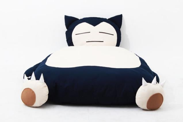 Snorlax Makes an Excellent Bed