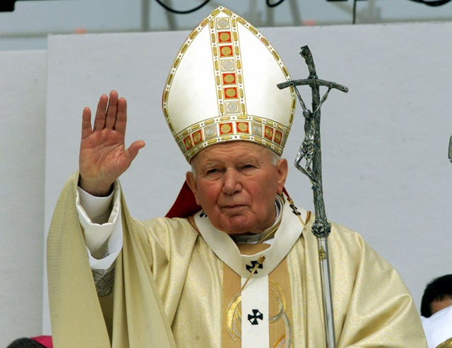 Pope John Paul II Joining Facebook