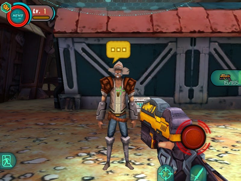 This Sure Looks Like A Knockoff Borderlands Game For Your iOS Device