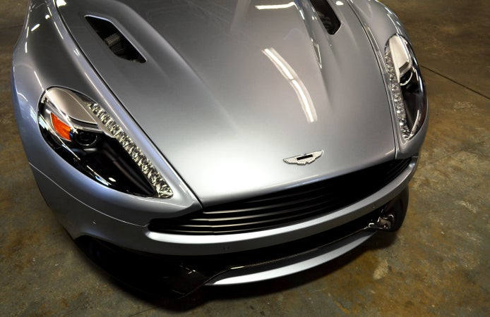 Driving the Aston Martin Vanquish made me want to be a better man