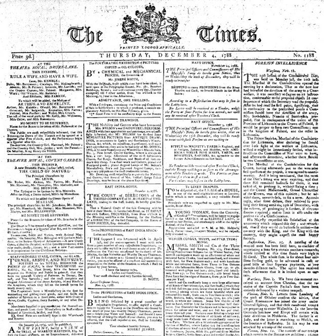 The World's Oldest Newspapers Still Being Published Today