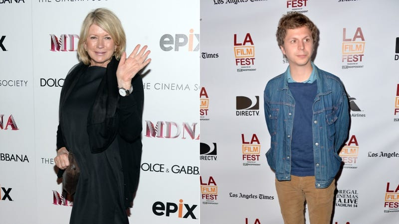 Martha Stewart and Michael Cera Are Hanging Out Without You