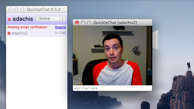 QuicklyChat Is Push-To-Talk Video Chat