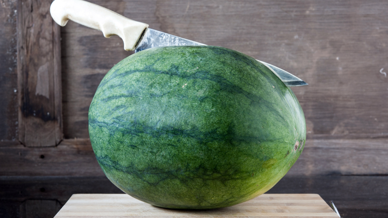 "Man Arrested for ""Passive-Aggressively"" Stabbing a Watermelon"