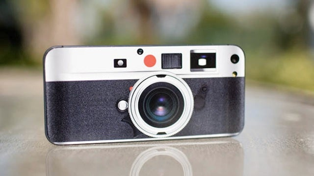 The Easiest Way to Get a Leica Camera Is with This iPhone 5 Sticker