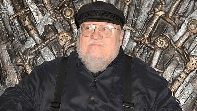 George R. R. Martin is writing the Coffee Table Book of Ice and Fire