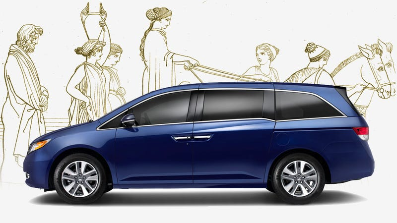 Honda Odyssey Needed In LA For Performance Of Homer's Odyssey