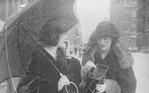 First Phone Was Used By Women Way Back in 1922