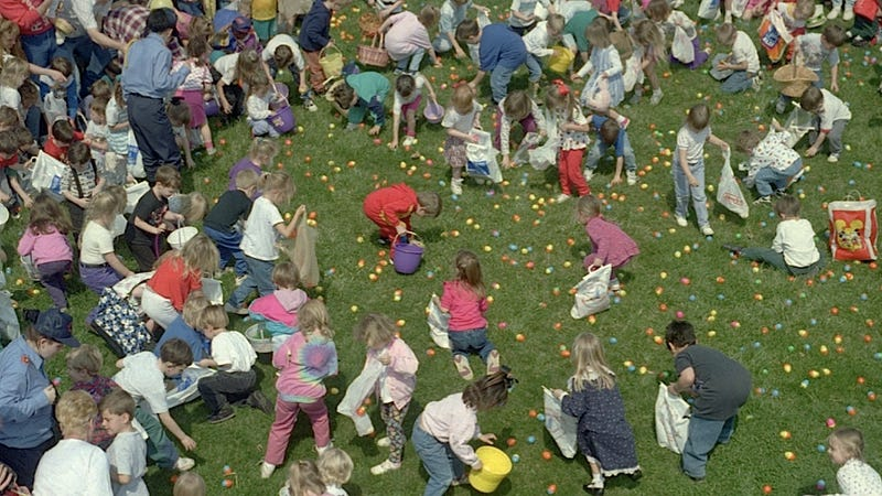 Egg-Hoarding Parents Ruin Easter for their Kids