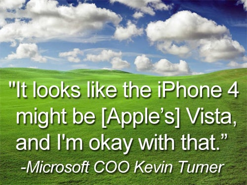 Microsoft COO Knows a Lemon When He Sees One