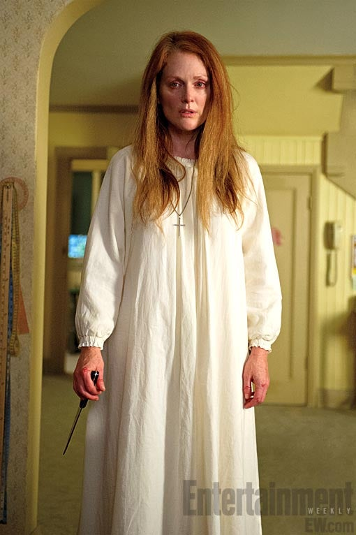 First images from the new Carrie show off the big bloody money shot
