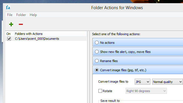 Folder Actions Brings OS X-Style Automation to Windows