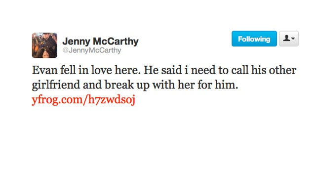 Jenny McCarthy's Son Is Already Dicking Over Girls
