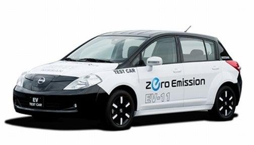 Nissan Shows Off Versa-Flavored EV Platform