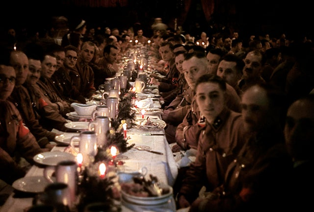 This Nazi Christmas party must have been the worst ever