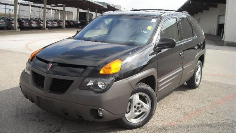 You Can Own The First Pontiac Aztek If That's What You Want