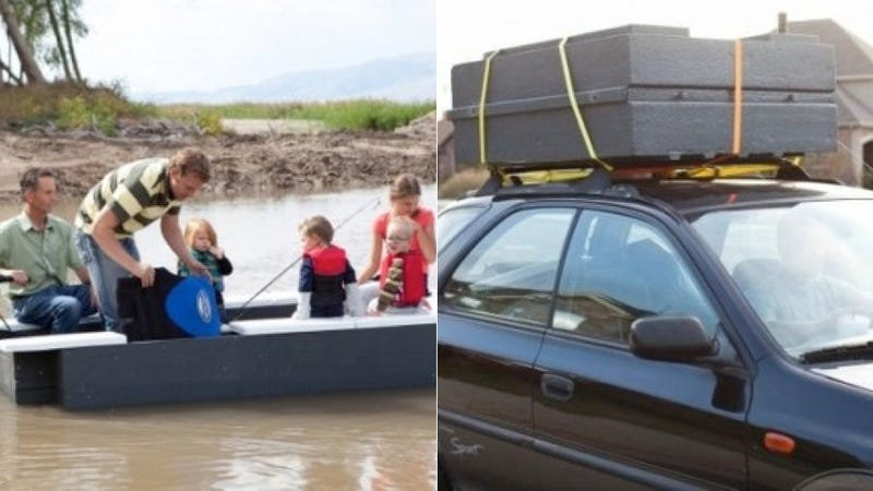 This Foldable Boat Is Great for Saving Space, Probably Less Great for Staying Alive