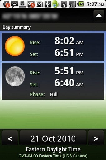 Check Sunrise and Sunset Times on Your Android Phone with Sundroid