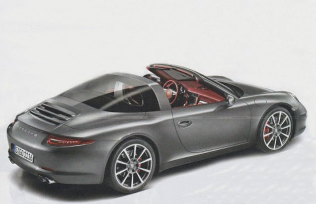 First Picture of the Porsche 991 Targa Leaked