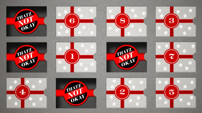 The 12 Days of Thatz Not Okay: 9 Christians Fretting