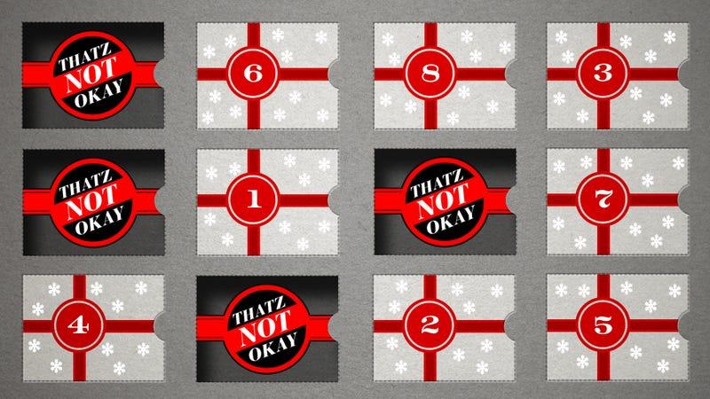 The 12 Days of Thatz Not Okay: 9 Christians Fretting