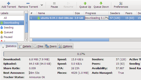 Five Best BitTorrent Applications