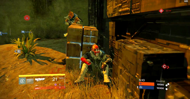 Player's Secret Weapon In Destiny's Multiplayer Is...Sitting